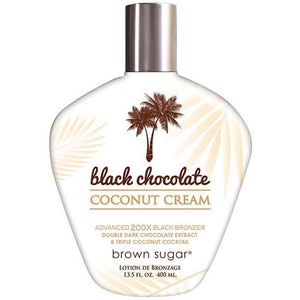 Brown Sugar - Black Chocolate Coconut Cream 13.5 oz. , Bronzer, Tan Inc., Sunless Deals