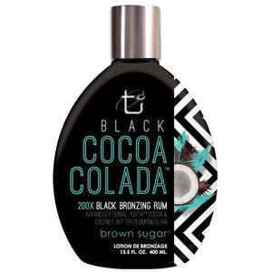 Brown Sugar Black Cocoa Colada 200x Black Bronzing Rum 13.5 oz.