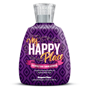 My Happy Place Cheerfully Dark Tanning Activator , Accelerator, Supre Tan, Sunless Deals