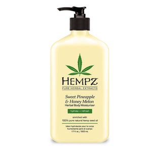 Hempz Sweet Pineapple & Honey Melon Herbal Body Moisturizer , Moisturizer, Hempz, Sunless Deals - 1