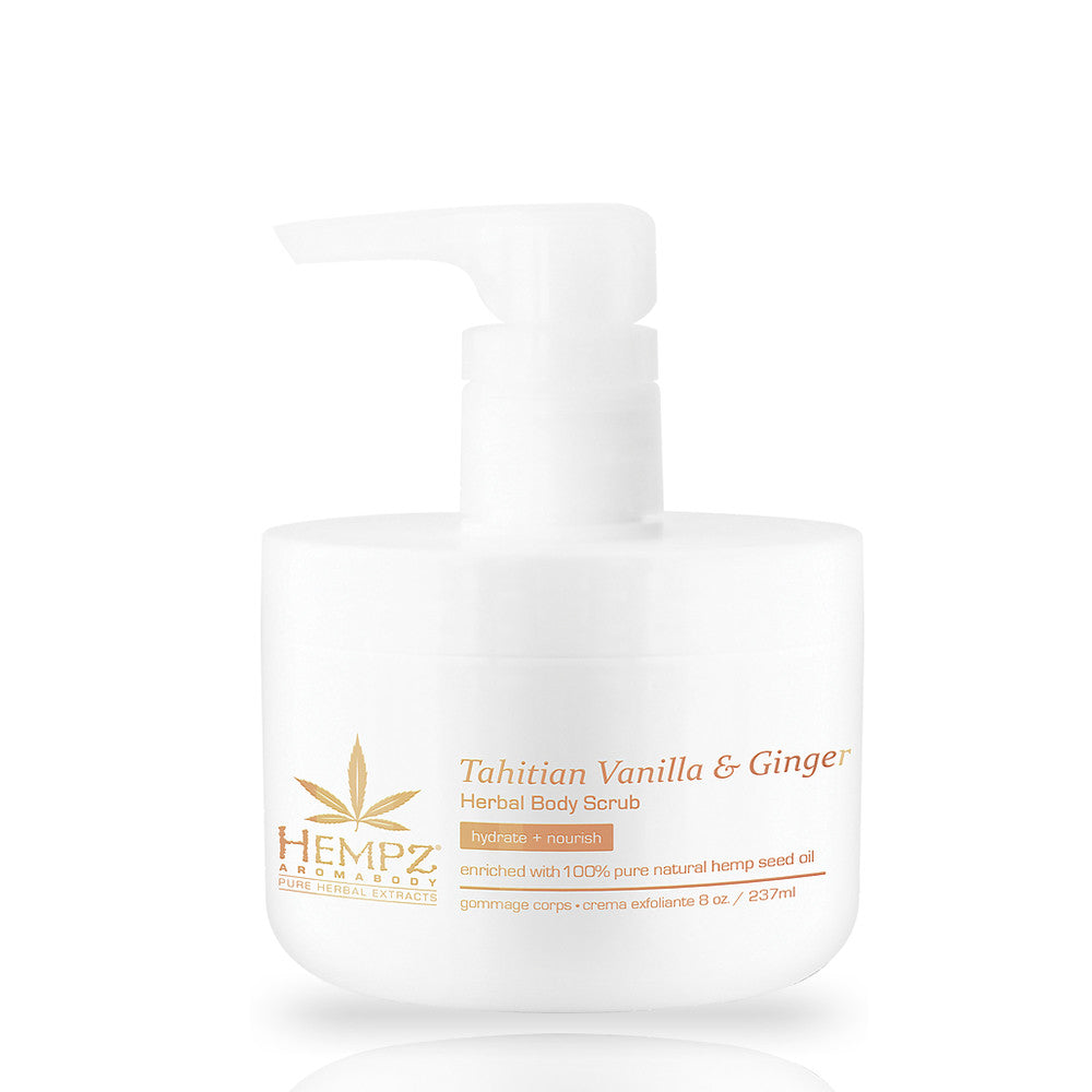 Hempz Tahitian Vanilla & Ginger Body Scrub , Body Scrub, Hempz, Sunless Deals