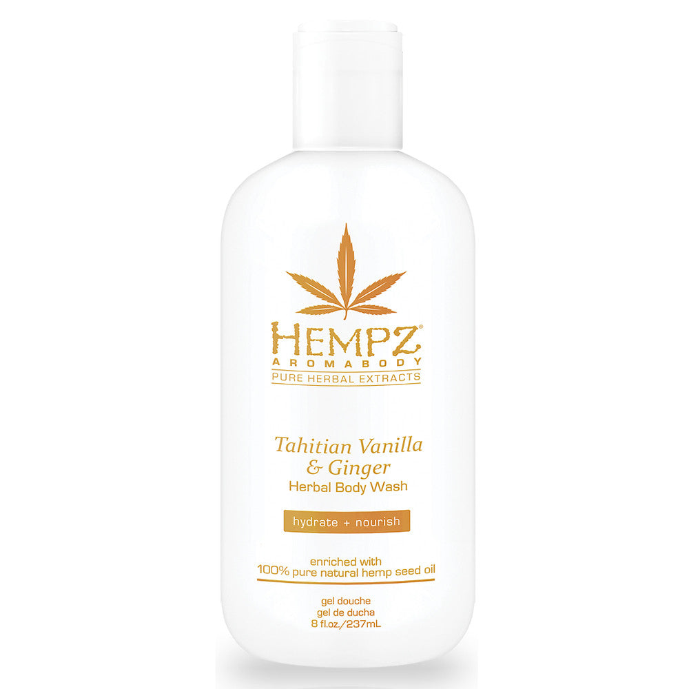 Hempz Tahitian Vanilla & Ginger Body Wash , Body Wash, Hempz, Sunless Deals