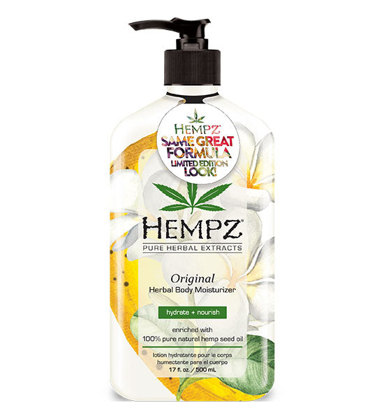 Hempz Limited Summer Edition Original Herbal Body Moisturizer