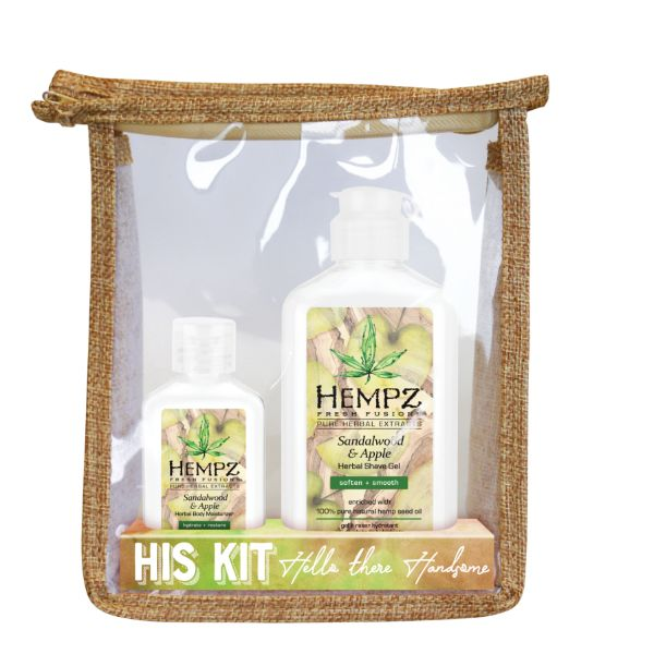 Hempz Sandalwood & Apple His Kit