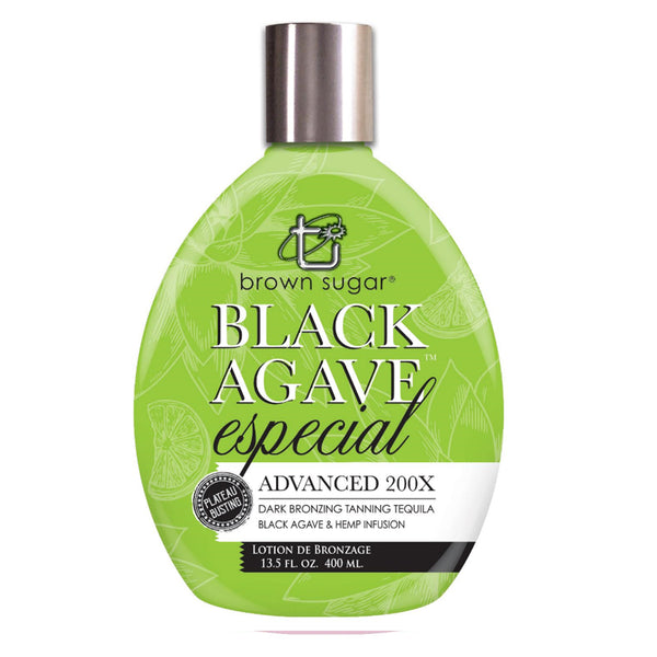 Brown Sugar Black Agave Especial Tanning Lotion - Sunless ...
