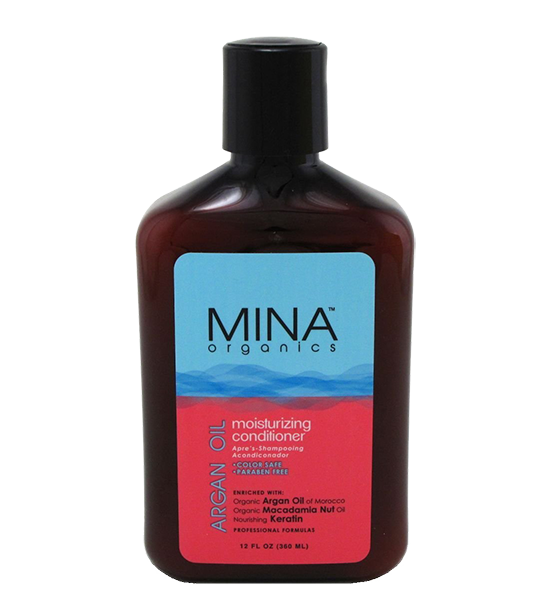 Mina Organics Argan Oil Conditioner 12 oz.