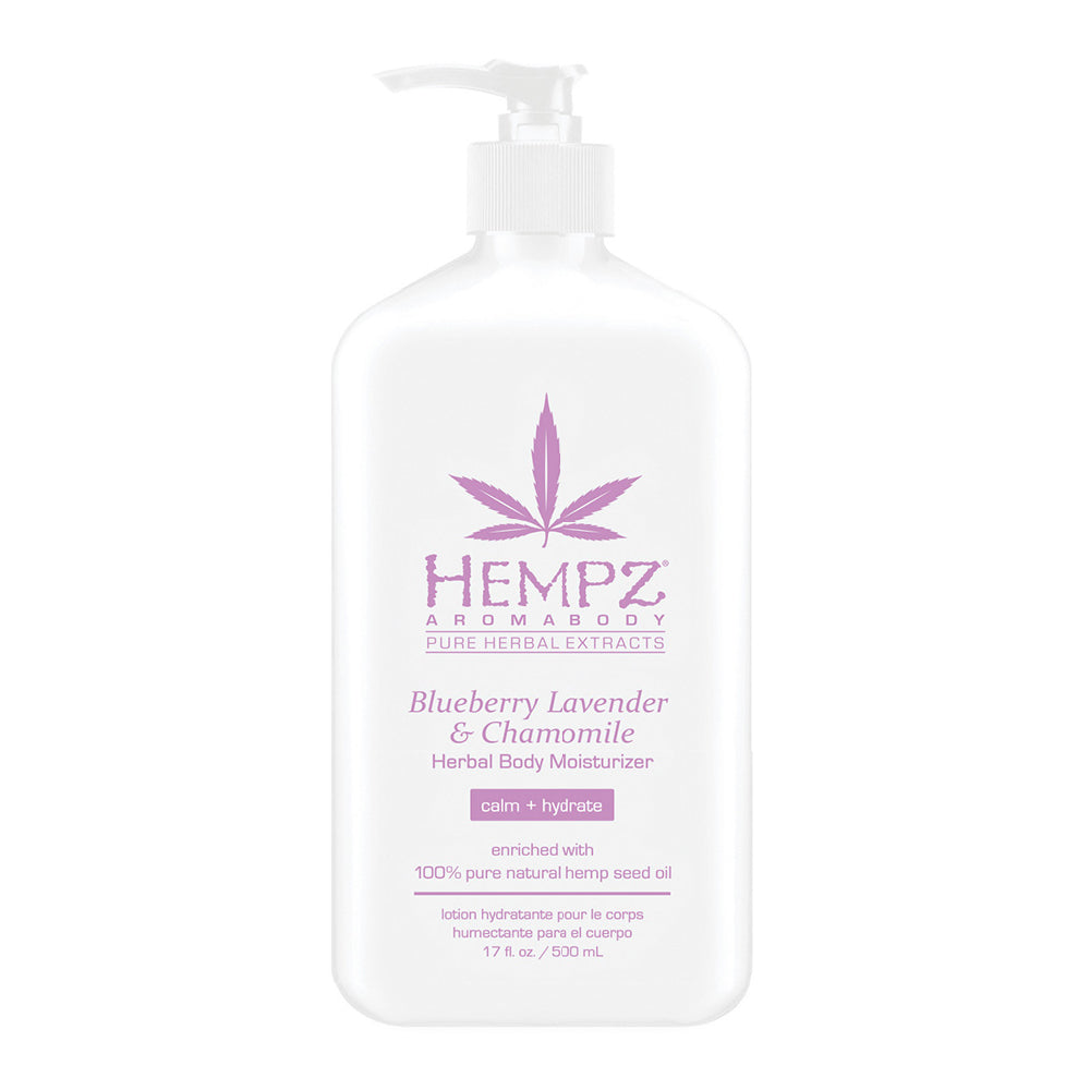Blueberry Lavender & Chamomile Herbal Body Moisturizer 17 oz.