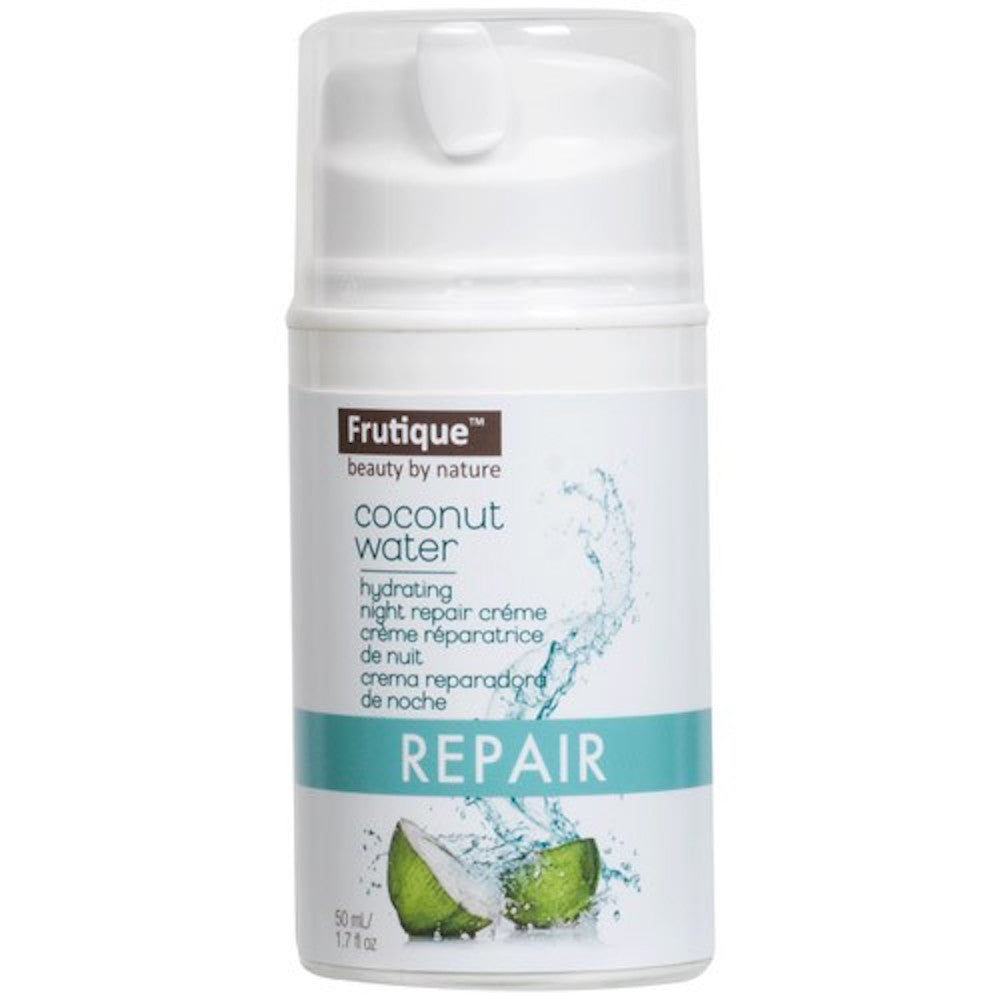 Frutique Coconut Water Hydrating Night Repair Crème<br>1.7 oz. , Moisturizer, Body Drench, Sunless Deals