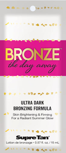 Supre Tan Bronze The Day Away Tanning Lotion Packet