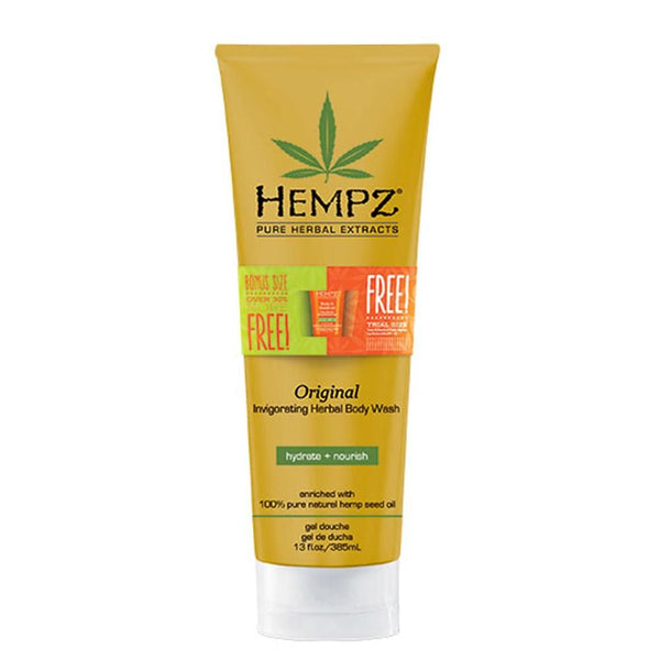Bonus Size Hempz Original Herbal Body Wash 13 oz.