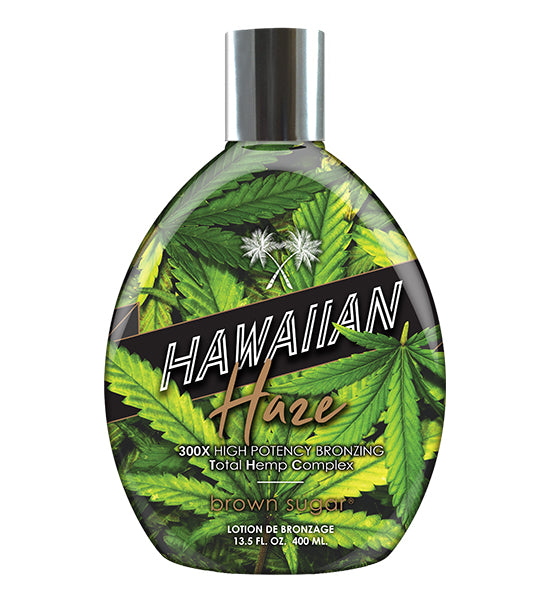 Brown Sugar Hawaiian Haze Bronzer Tanning Lotion