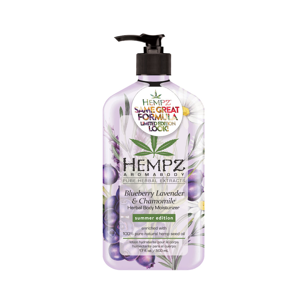 Summer Edition Hempz Blueberry Lavender & Chamomile Body Moisturizer