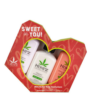 Hempz Sweet On You Valentine Kit 3PK