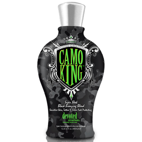 Camo King Black Bronzing Lotion , Bronzer, Devoted Creations, Sunless Deals