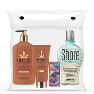 Snooki Tanning Lotion and Hempz Moisturizer Gift Set