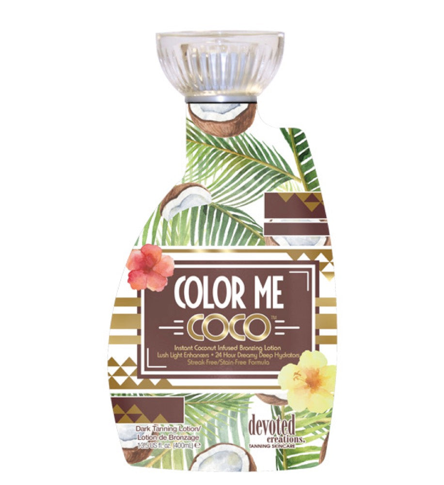 Devoted Creations Color Me Coco Coconut Infused Bronzer 13.5oz