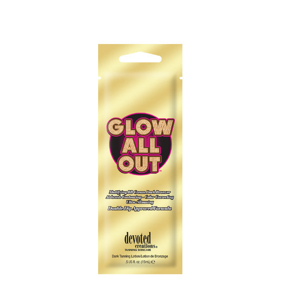 Glow All Out Indoor Tanning Lotion Packet