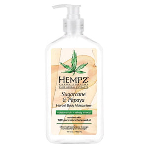 Hempz Sugarcane & Papaya Herbal Body Moisturizer-Moisturizer-Sunless Deals