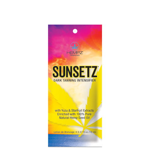 Sunsetz Dark Tanning Intensifier Packet