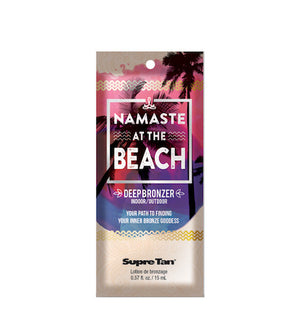Namaste At The Beach Deep Tanning Lotion Packet