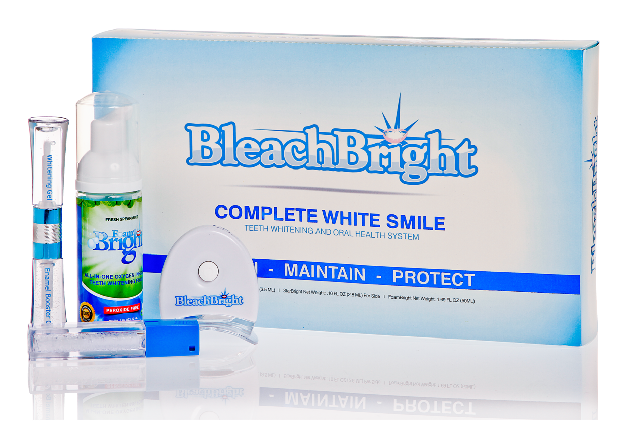 Bleachbright Complete White Smile Teeth Whitening And Oral Care System , Teeth Whitening, Bleachbright, Sunless Deals