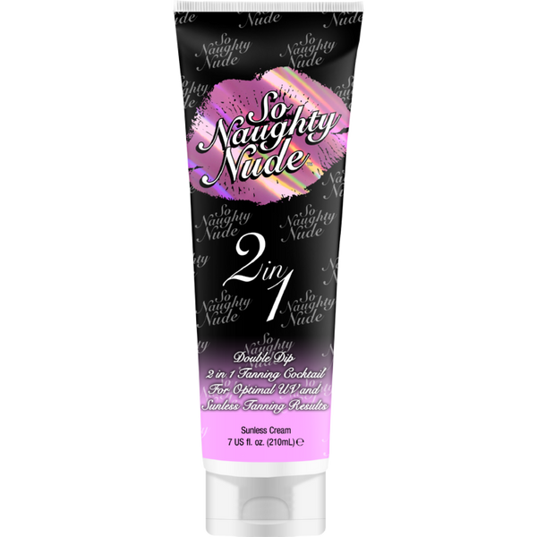 So Naughty Nude 2 In 1 Tanning Cocktail 7 oz. , Sunless, Devoted Creations, Sunless Deals