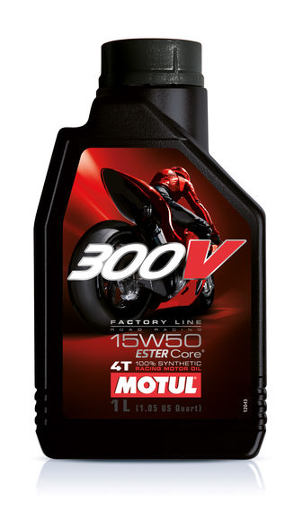 Motul 4L Factory Line Road Racing 300V 15W50