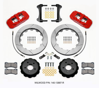 Wilwood 6 Piston Big Brake Kit Front for 15+ Mustang