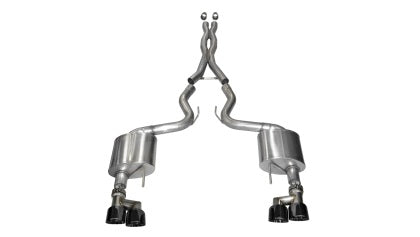 Corsa Xtreme Catback Exhaust W/ Quad Tips for 15-16 GT