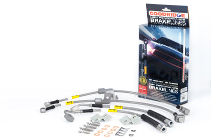 Goodridge Stainless Brake Lines for 15+ Mustang