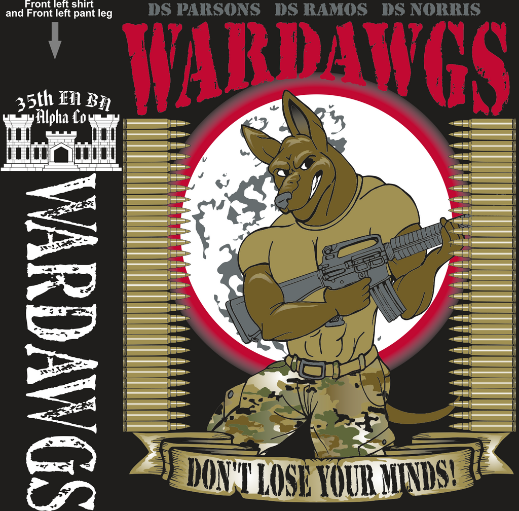 ALPHA 35TH WAR DAWGS GRADUATING DAY 11-4-2016 digital