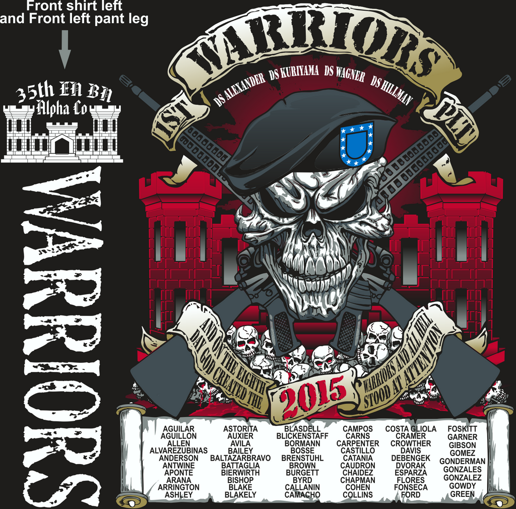 ALPHA 35TH WARRIORS GRADUATING DAY 7-3-2015 digital