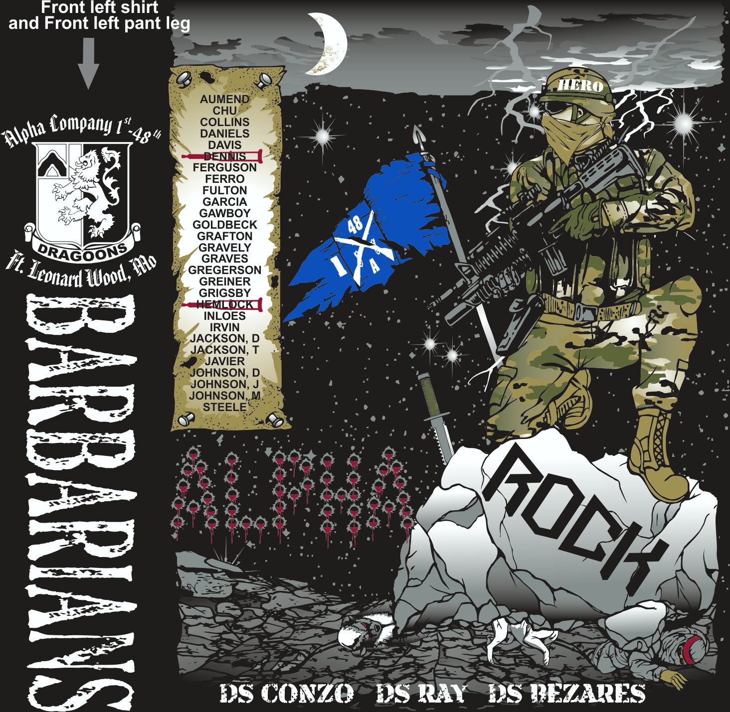ALPHA 1-48 BARBARIANS GRADUATING DAY 6-16-2016 digital