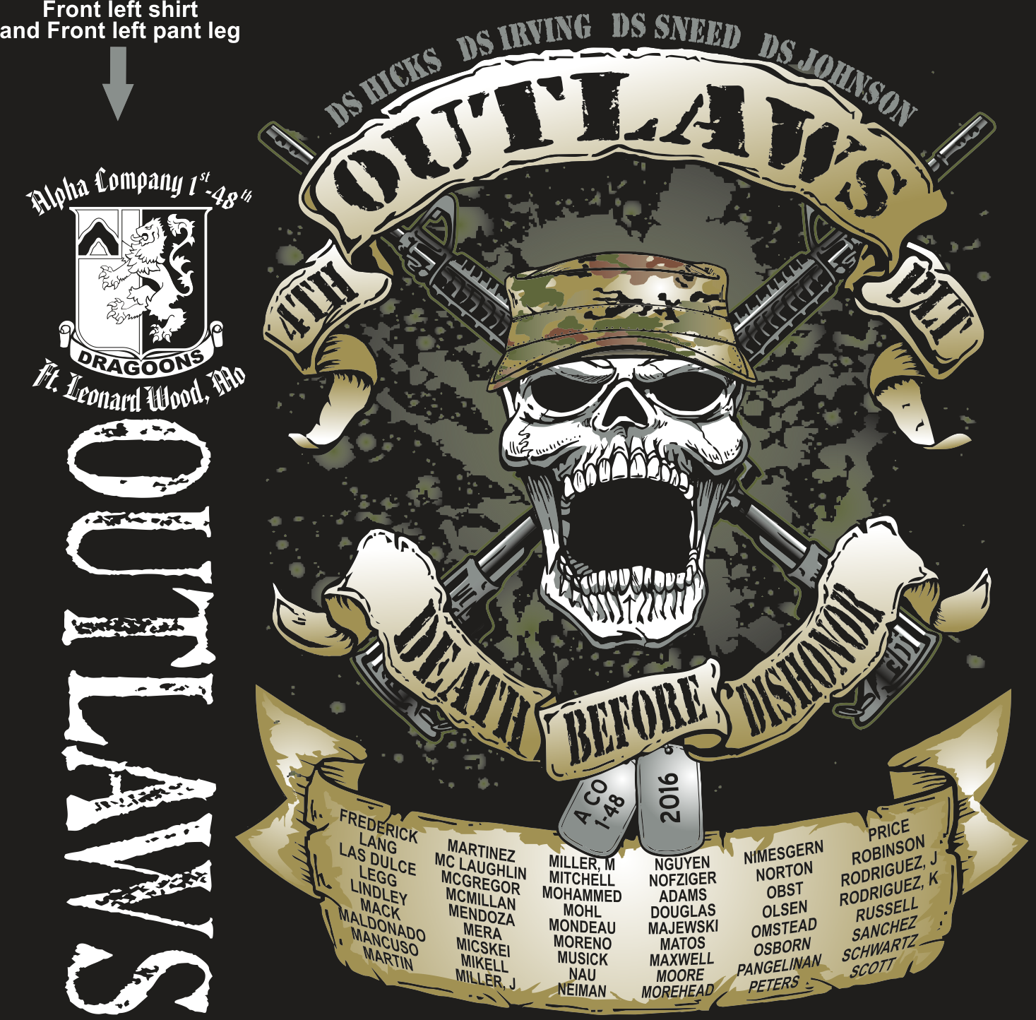 ALPHA 1-48 OUTLAWS GRADUATING DAY 12-8-2016 digital
