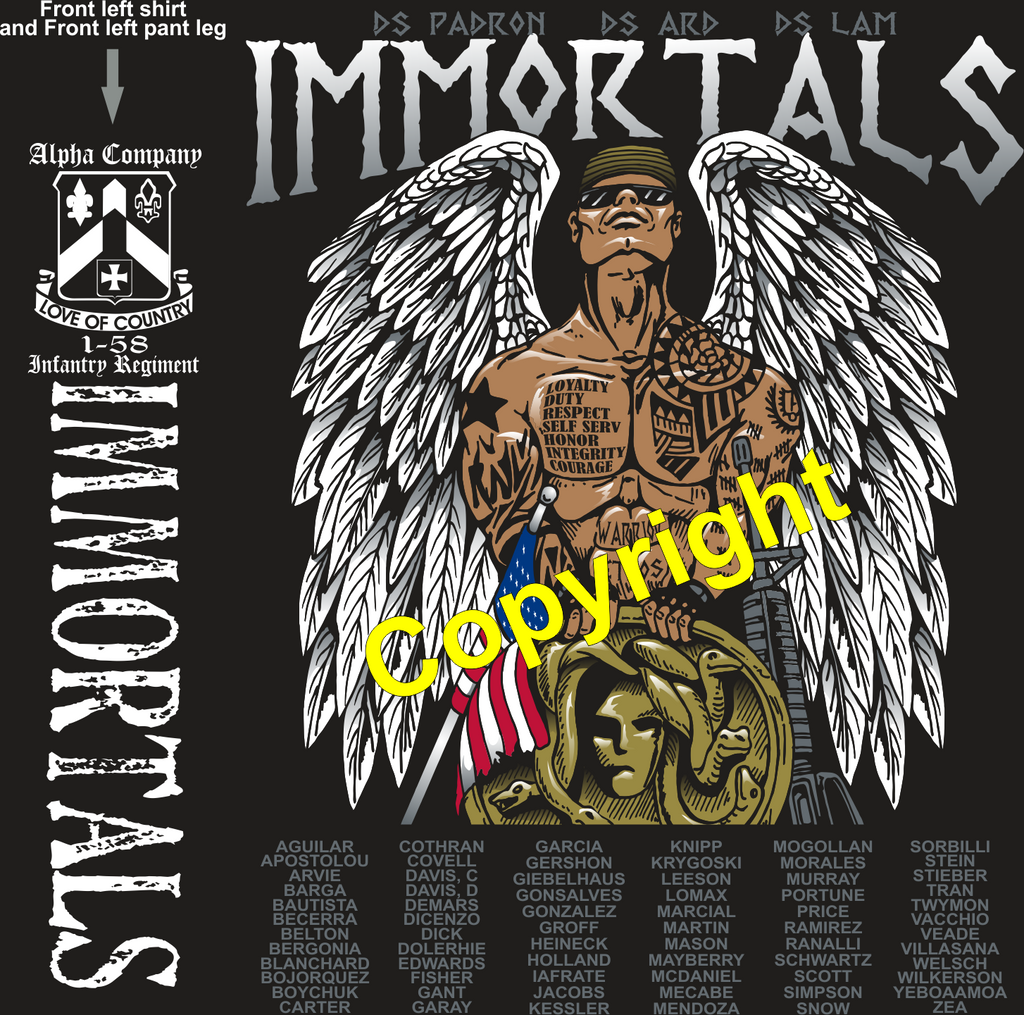 ALPHA 158 IMMORTALS GRADUATING DAY 9-5-2019 digital