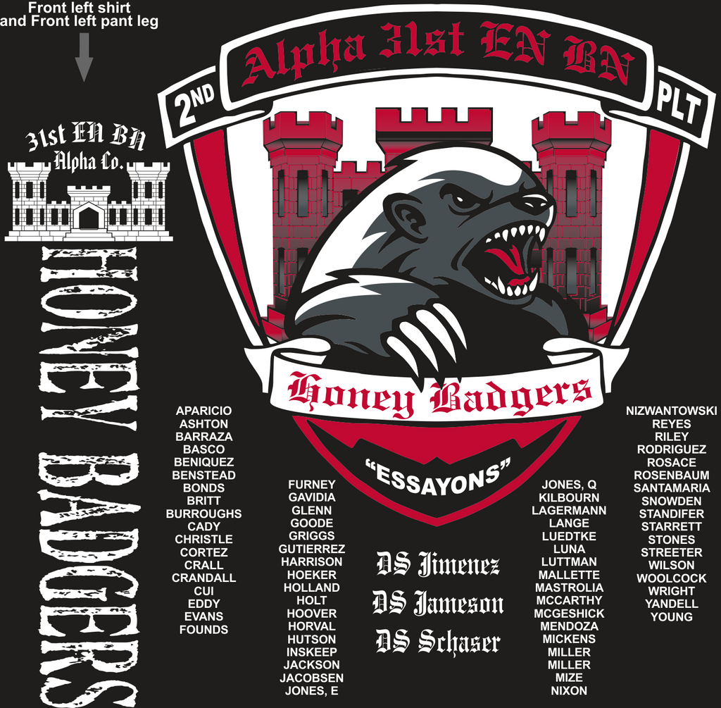 ALPHA 31ST HONEY BADGERS GRADUATING DAY 10-21-2016 digital