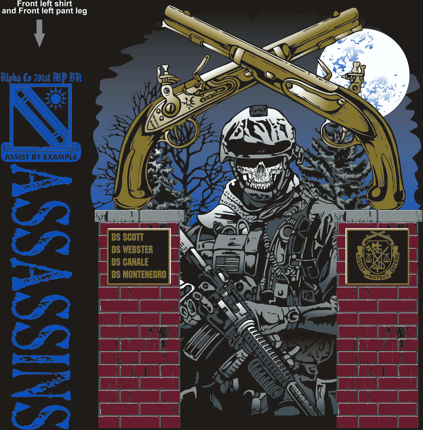 ALPHA 701ST ASSASSINS GRADUATING DAY 12-17-2015 digital