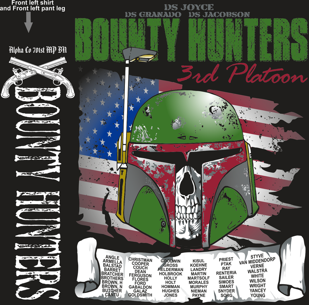 ALPHA 701ST BOUNTY HUNTERS GRADUATING DAY 11-10-2016 digital
