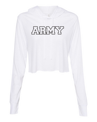Army Cropped Long Sleeve