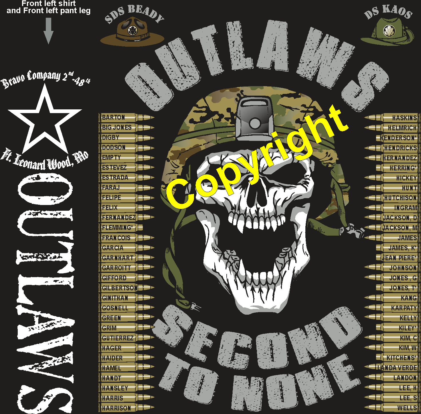 BRAVO 248 OUTLAWS GRADUATING DAY 9-6-2018 digital