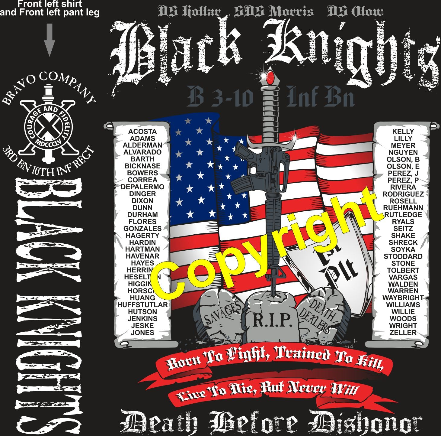 BRAVO 310 BLACK KNIGHTS GRADUATING DAY 3-14-2019 digital