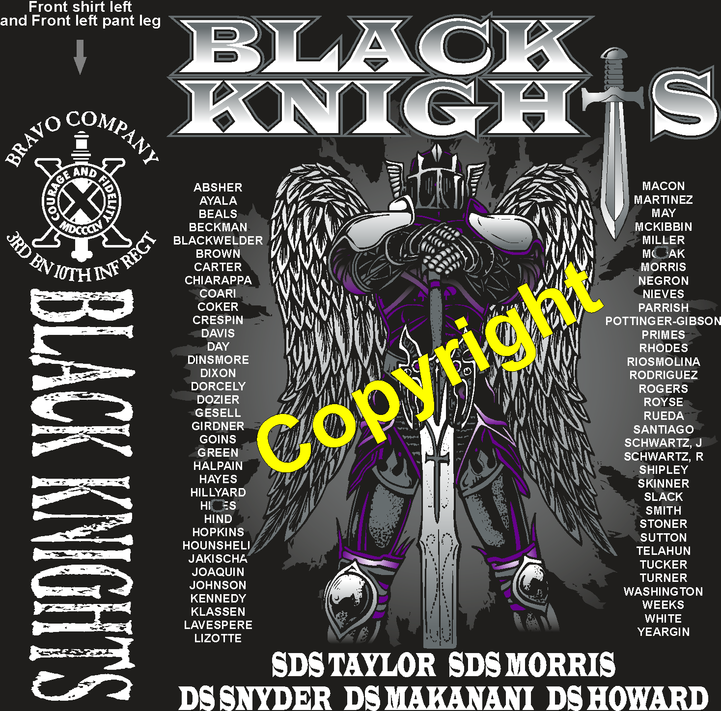 BRAVO 310 BLACK KNIGHTS GRADUATING DAY 8-9-2018 digital