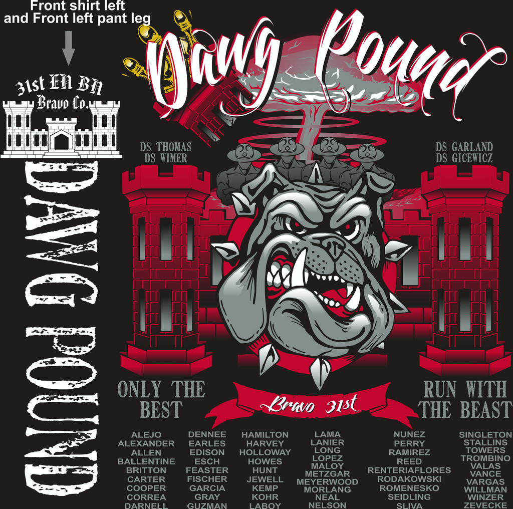 BRAVO 31ST DAWG POUND GRADUATING DAY 7-17-2015 digital