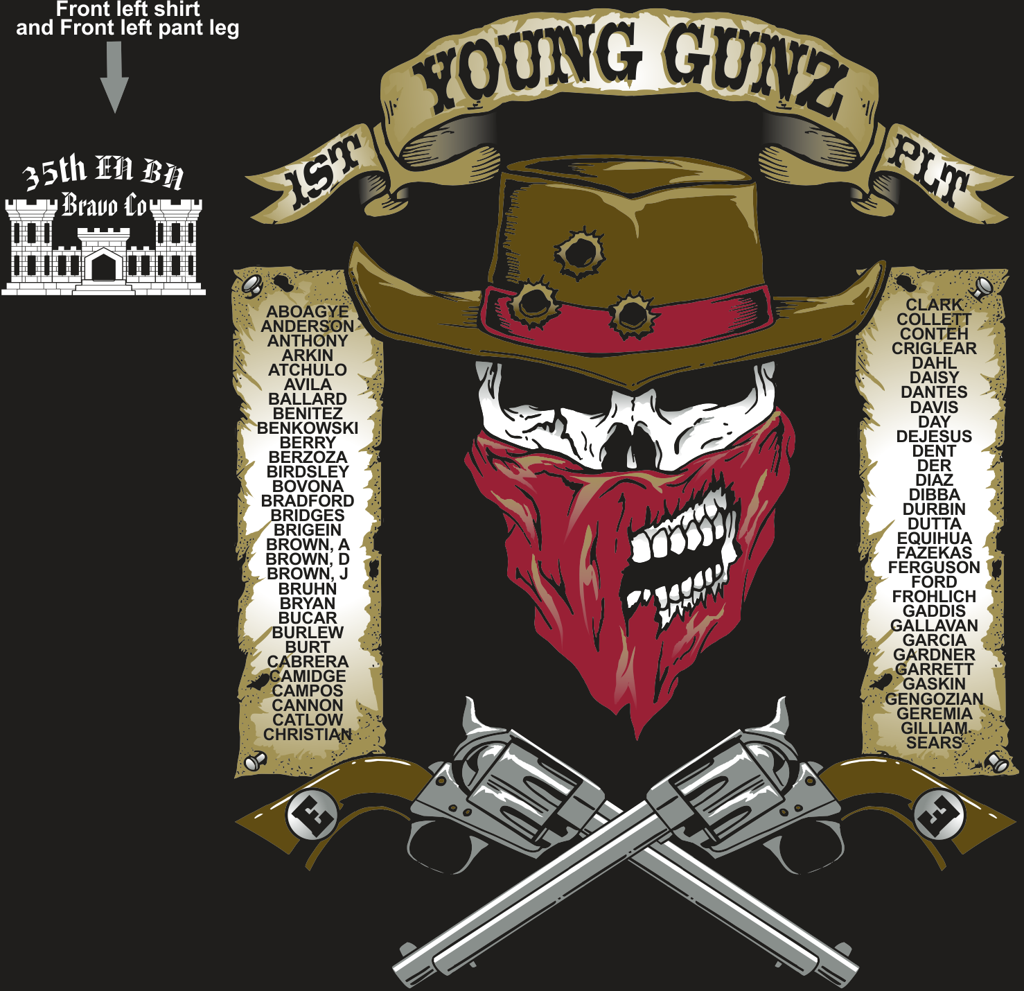 BRAVO 35TH YOUNG GUNZ GRADUATING DAY 2-24-2017 digital