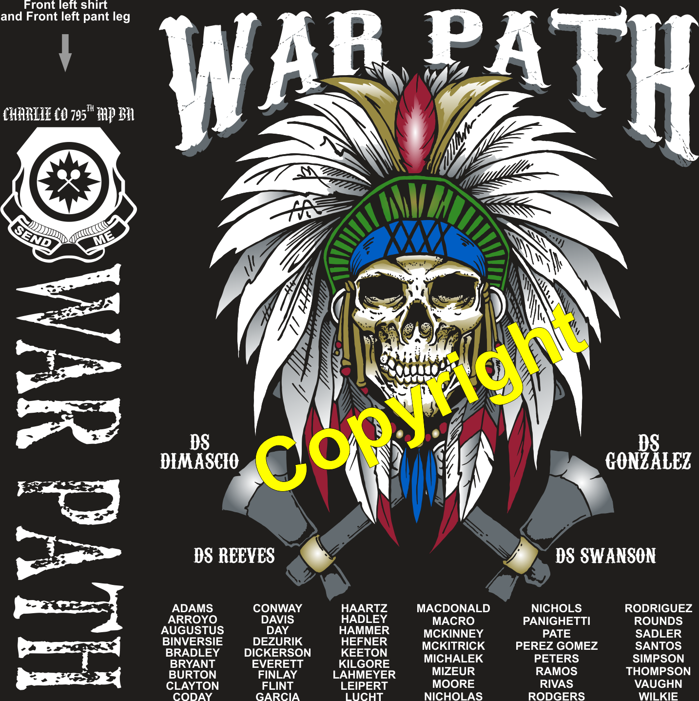 CHARLIE 795 WAR PATH GRADUATING DAY 8-16-2019 digital