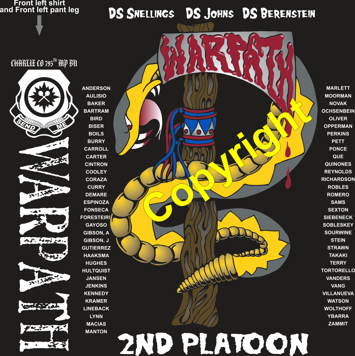 CHARLIE 795 WAR PATH GRADUATING DAY 5-24-2018 digital