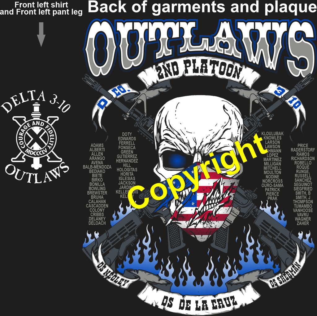 DELTA 310 OUTLAWS GRADUATING DAY 1-28-2021 DTG