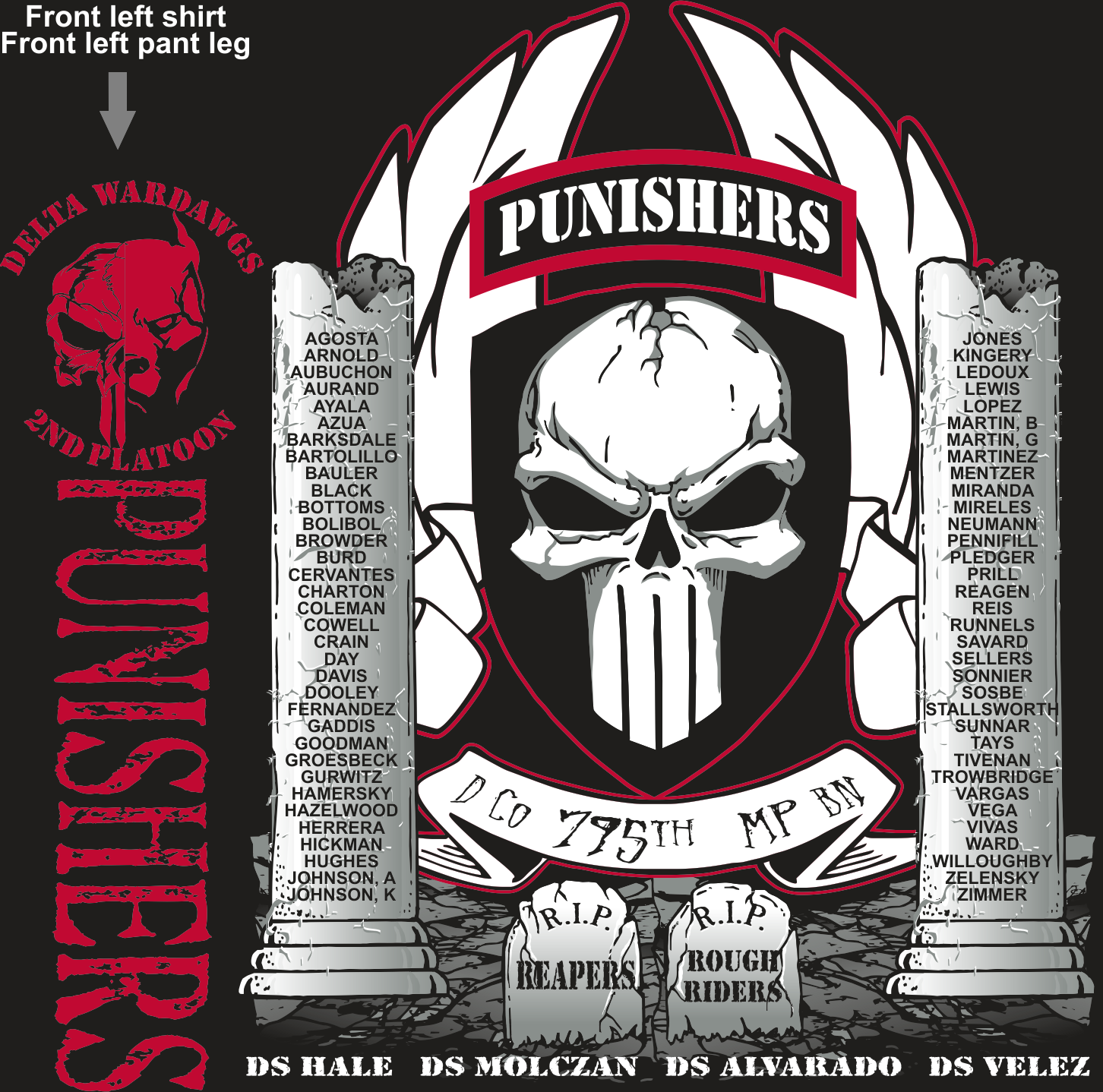 DELTA 795 PUNISHERS GRADUATING DAY 2-9-2017 digital
