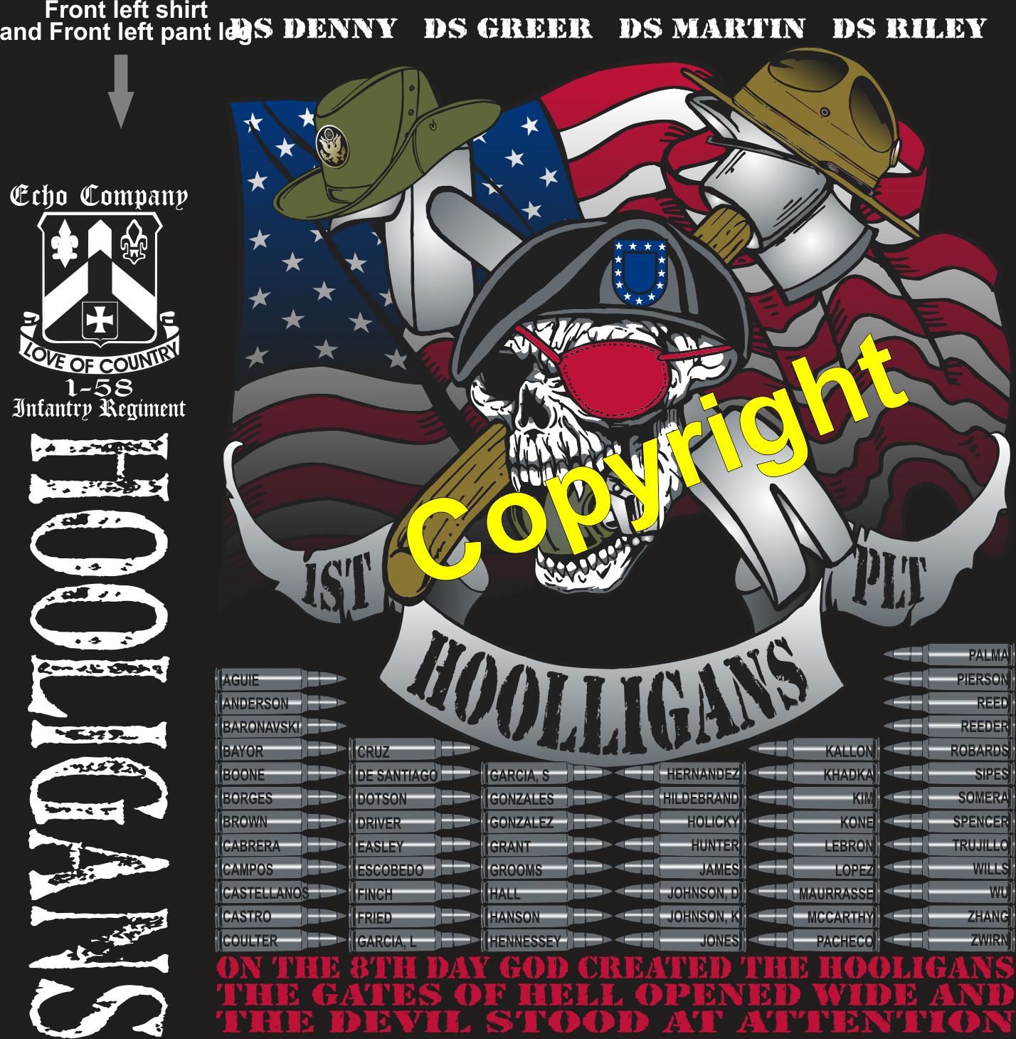 ECHO 158 HOOLIGANS GRADUATING DAY 5-9-2019 digital