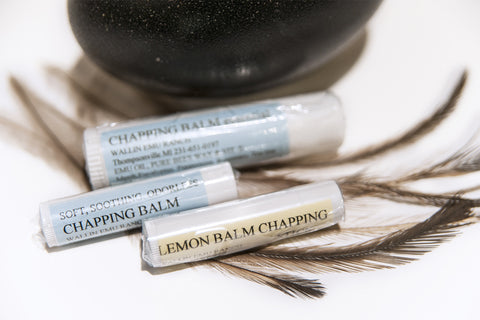 WER Emu Oil Lemon Balm Chapping Balm
